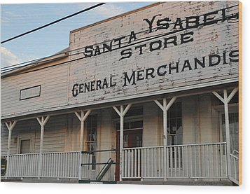The Old General Store Wood Print