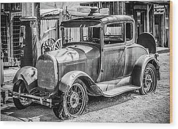 The Old Model Wood Print