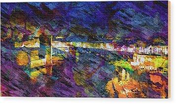 The Old Port Marseille 1 Wood Print