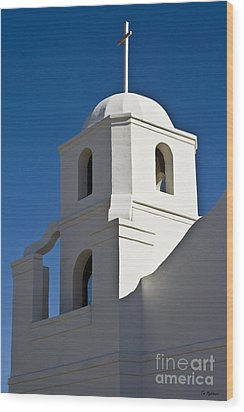 The Old Scottsdale Mission Wood Print