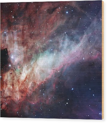 Wood Print featuring the photograph The Omega Nebula by Eso