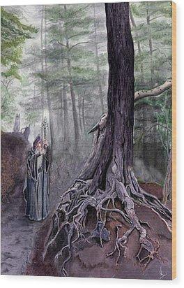 The One-eyed Wanderer Wood Print