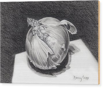 The Onion Wood Print