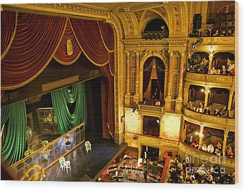 The Opera House Of Budapest Wood Print by Madeline Ellis