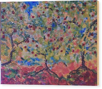 The Orchard Wood Print by Karla Phlypo-Price