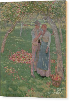 The Orchard Wood Print by Nelly Erichsen