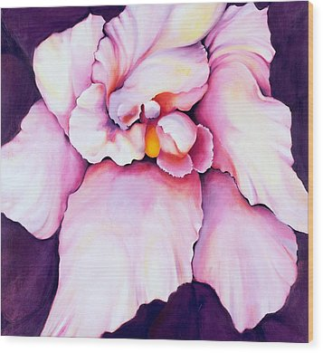 The Orchid Wood Print by Jordana Sands
