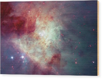 Wood Print featuring the photograph The Orion Nebula #3 by Nasa
