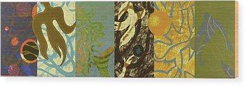 The Other Side Of The Sky Series II 2 Wood Print by David Jansheski
