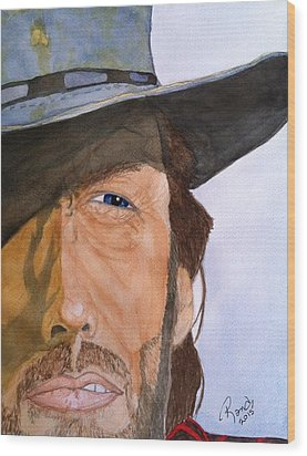 The Outlaw Josey Wales Wood Print by Rand Swift