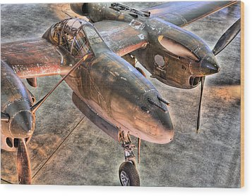 The Pacific Theater Wood Print by JC Findley
