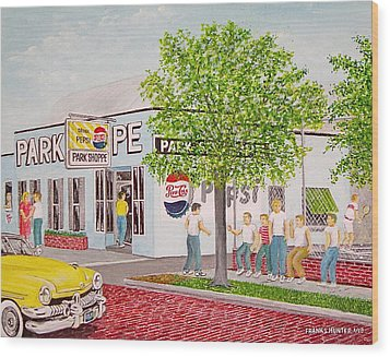 The Park Shoppe Portsmouth Ohio Wood Print