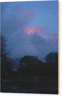 The Passing Wood Print by Richard  Hubal