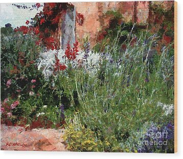 The Passion Of Summer Wood Print by RC DeWinter