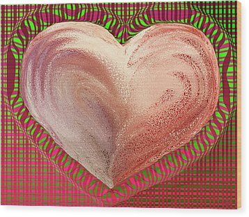 The Passionate Heart Wood Print