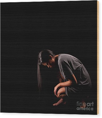 The Past Is Gone 1284527 Wood Print by Rolf Bertram