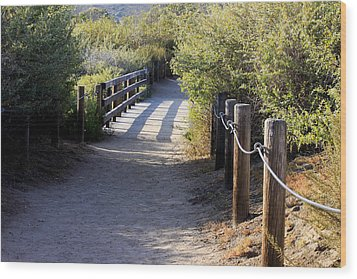 Wood Print featuring the photograph The Path by Ivete Basso Photography