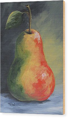 The Pear Chronicles 005 Wood Print by Torrie Smiley