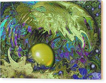 The Pearl Wood Print by Anne Weirich
