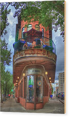The Pickle Barrel Chattanooga Tn Wood Print by Reid Callaway