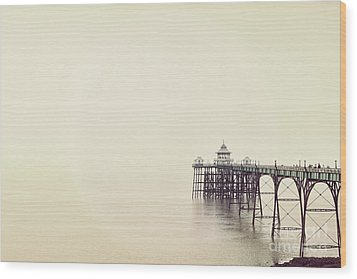 Wood Print featuring the photograph The Pier by Colin and Linda McKie