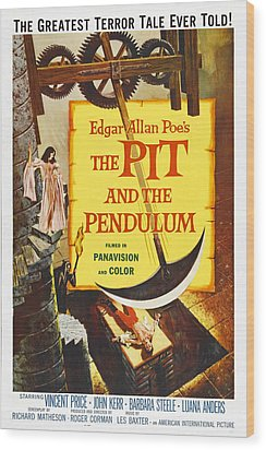 The Pit And The Pendulum, 1961 Wood Print by Everett
