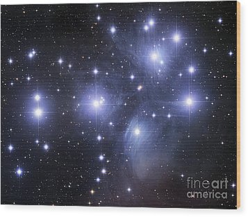 The Pleiades Wood Print by Robert Gendler