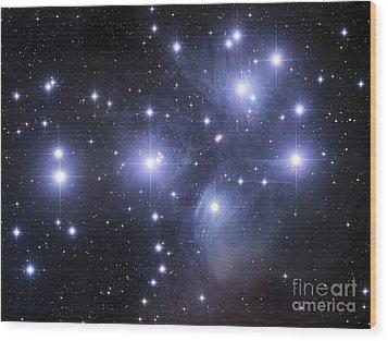 The Pleiades Wood Print