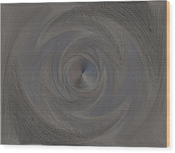 The Point Within Wood Print by Tim Allen