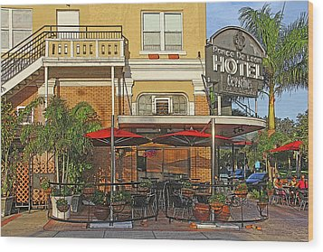 The Ponce De Leon Hotel Wood Print