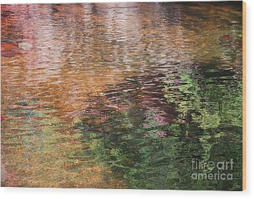 Wood Print featuring the photograph The Pond by Donna Greene