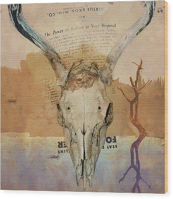 The Power Of Radium Wood Print by Jeff Burgess