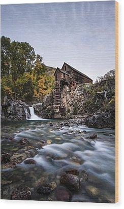 The Powerhouse Wood Print