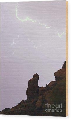 The Praying Monk Phoenix Arizona Wood Print by James BO  Insogna