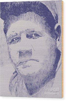 The Pride Of The Yankees Wood Print by Robbi  Musser