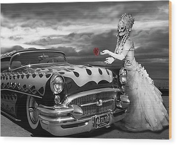 The Prince Of The Highway Wood Print by Larry Butterworth