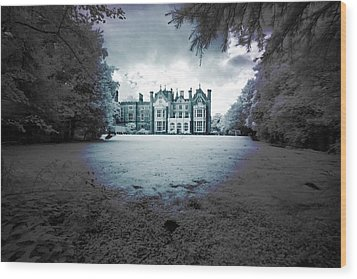 Wood Print featuring the photograph The Priory  by Keith Elliott
