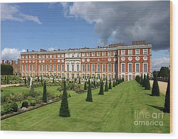 The Privy Garden Hampton Court Wood Print