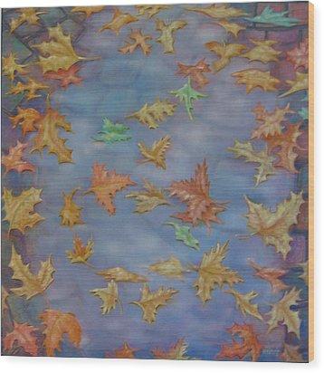 The Pudlle Wood Print by Hiske Tas Bain