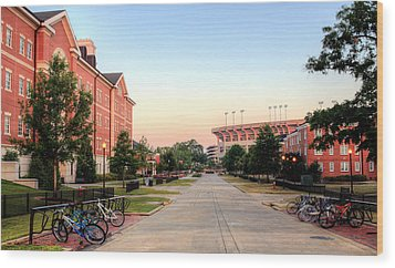 The Quad Wood Print by JC Findley