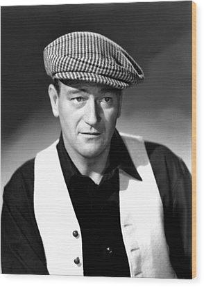 The Quiet Man, John Wayne, 1952 Wood Print by Everett