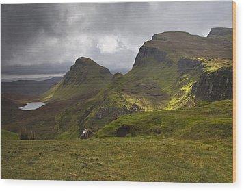The Quiraing Isle Of Skye Scotland Wood Print