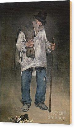 The Ragman Wood Print by Edouard Manet