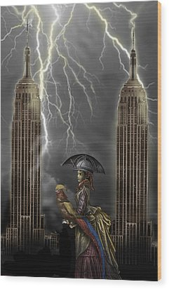 The Rainmaker Wood Print by Larry Butterworth
