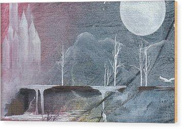 The Realm Of Queen Astrid Wood Print by Jackie Mueller-Jones