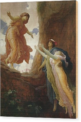 The Return Of Persephone Wood Print by Frederic Leighton