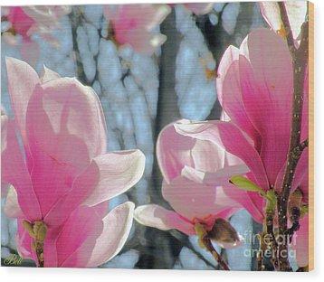The Return Of Spring Wood Print by Christine Belt