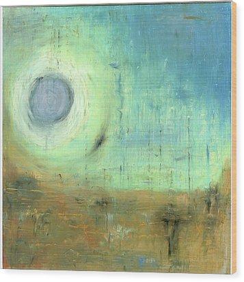 The Rising Sun Wood Print by Michal Mitak Mahgerefteh