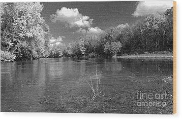 The Rivers Bend  Wood Print by Scott D Van Osdol