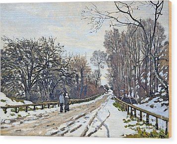 The Road To The Farm Of St. Simeon Wood Print